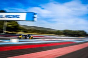 Christopher Mies Mattia Drudi Kim-Luis Schramm Attempto Racing Audi R8 LMS GT3 GT World Challenge Europe Le Castellet