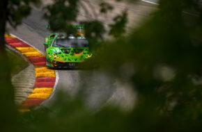 Misha Goikhberg Franck Perera Grasser Racing Team Lamborghini Huracan GT3 IMSA WeatherTech SportsCar Championship Road America