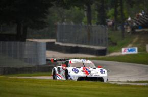 Cooper MacNeil Matt Campbell WeatherTech Racing Porsche 911 RSR IMSA WeatherTech SportsCar Championship Road America