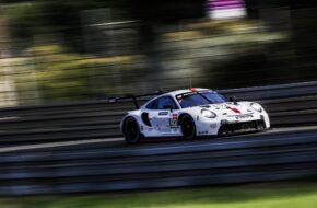 Kevin Estre Neel Jani Michael Christensen Porsche GT Team Porsche 911 RSR FIA WEC Testtag 24h Le Mans