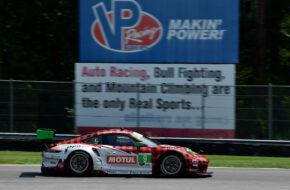 Zach Robichon Laurens Vanthoor Pfaff Motorsport Porsche 911 GT3 R IMSA WeatherTech Sportscar Championship Lime Rock