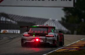 Zach Robichon Laurens Vanthoor Pfaff Motorsport Porsche 911 GT3 R IMSA WeatherTech Sportscar Championship Road America