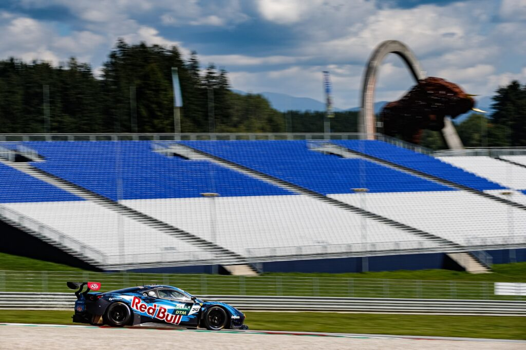 Liam Lawson Red Bull AF Corse Ferrari 488 GT3 DTM Red Bull Ring