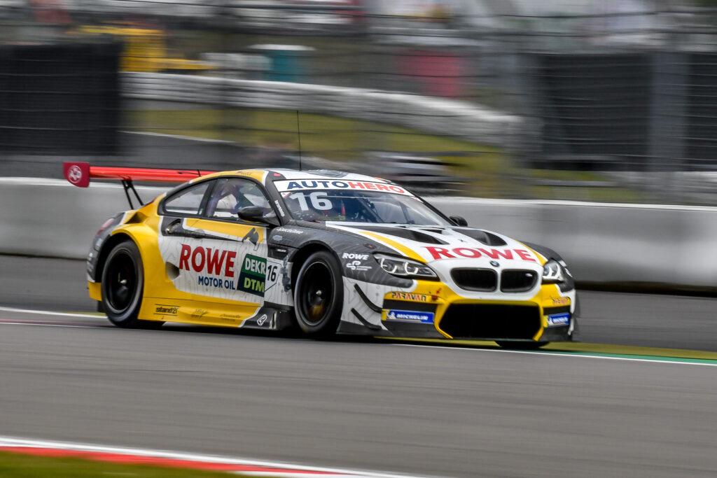 Timo Glock ROWE Racing BMW M6 GT3 DTM Nürburgring