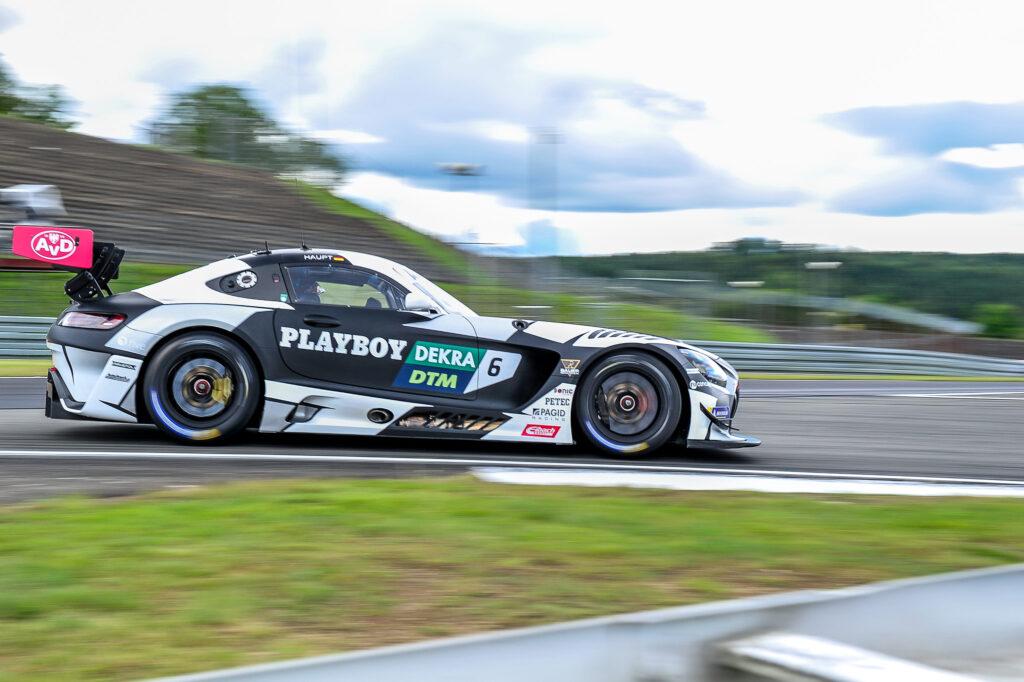 Hubert Haupt Haupt Racing Team Mercedes-AMG GT3 DTM Nürburgring
