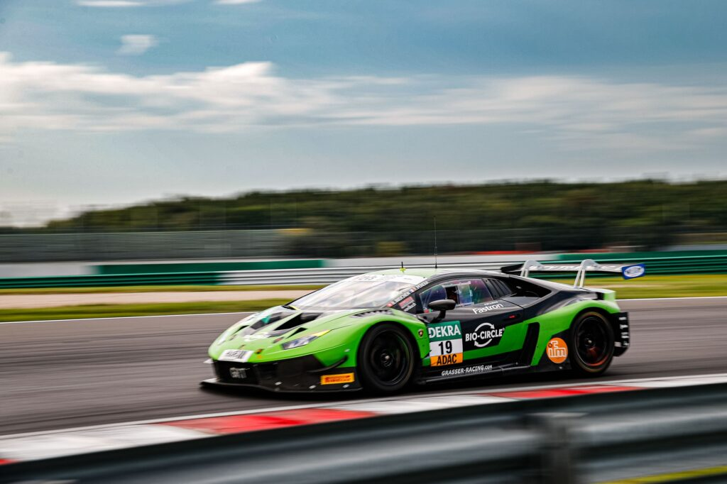 Rolf Ineichen Franck Perera Grasser Racing Team Lamborghini Huracan GT3 ADAC GT Masters Lausitzring