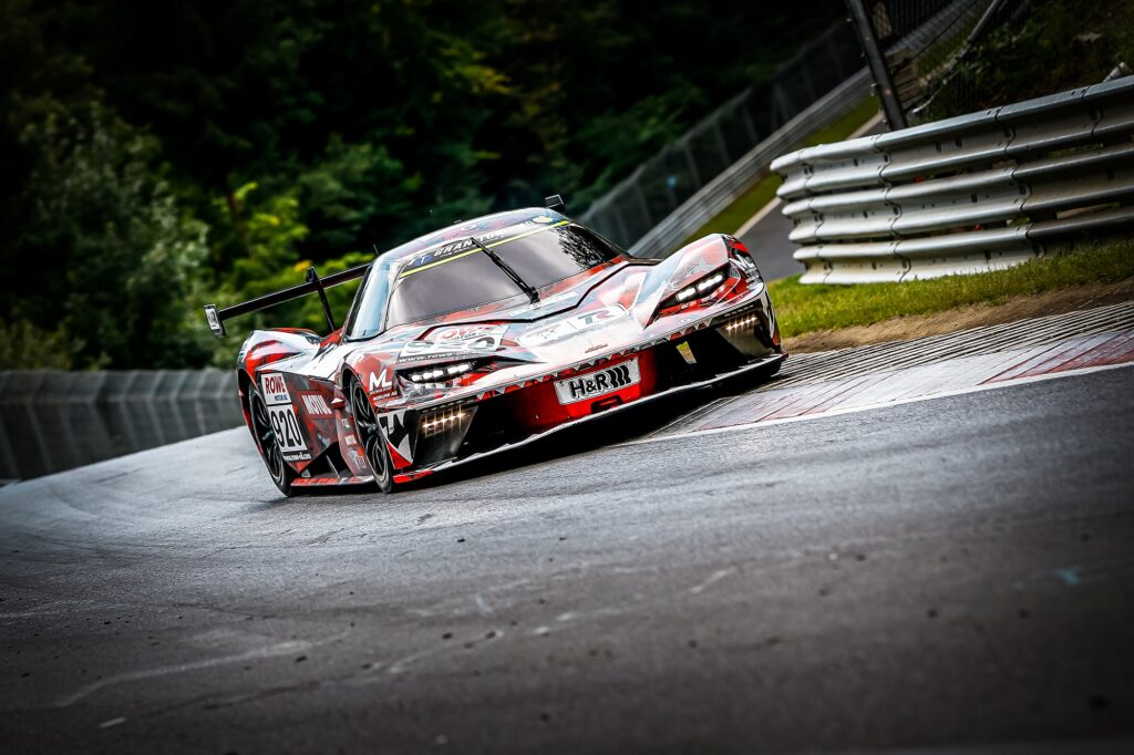 Daniel Bohr Timo Mölig Reinhard Kofler Teichmann Racing KTM X-BOW GTX Nürburgring Langstrecken-Serie Nürburgring-Nordschleife