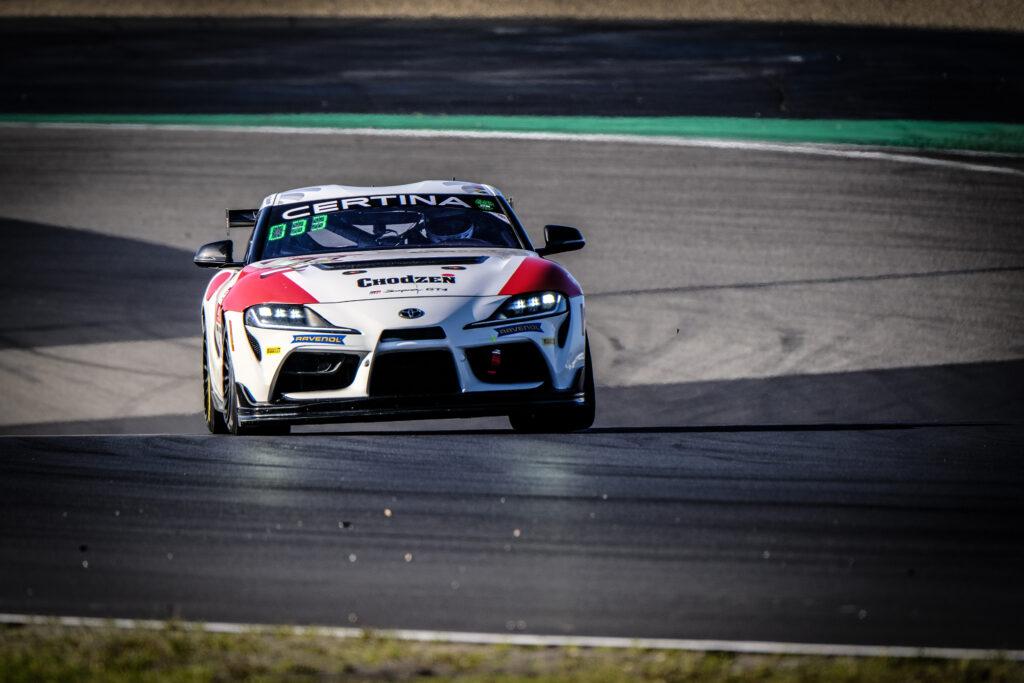 Piotr Chodzen Antoni Chodzen SVC Sport Management Toyota GR Supra GT4 GT4 European Series Nürburgring