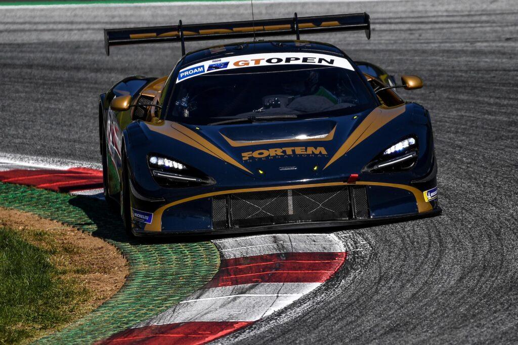 Nick Moss Joe Osborne Inception Racing McLaren 720S GT3 International GT Open Red Bull Ring