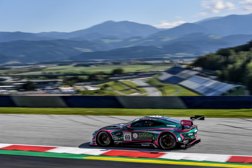 Charlie Eastwood Sam de Haan TF Sport Aston Martin Vantage GT3 International GT Open Red Bull Ring