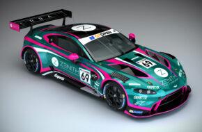 Sam de Haan Charlie Eastwood TF Sport Aston Martin Vantage GT3 International GT Open
