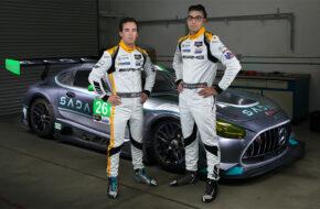 Steven Aghakhani Jacob Eidson US RaceTronics Mercedes-AMG GT3 IMSA WeatherTech SportsCar Championship