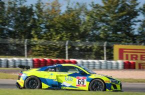 Christophe Hamon Michael Blanchemain Team Fullmotorsport Audi R8 LMS GT4 GT4 European Series Nürburgring