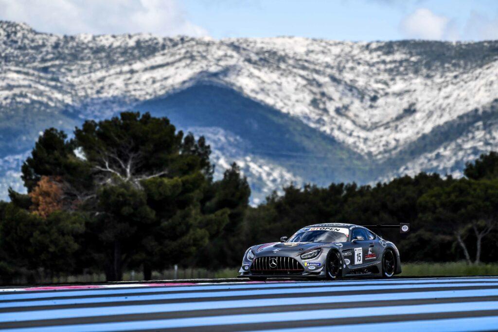 Mario Hirsch Dominik Schraml équipe vitesse Mercedes-AMG GT3 INternational GT Open Le Castellet