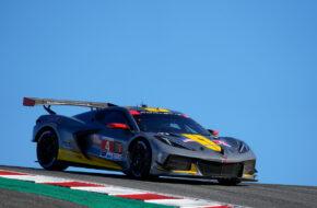 Nick Tandy Tommy Milner Corvette Racing Corvette C8.R IMSA WeatherTech SportsCar Championship Laguna Seca