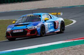 Dominique Schaak Vincent Gisy Racing One Audi R8 LMS GT4 GTC Race Assen