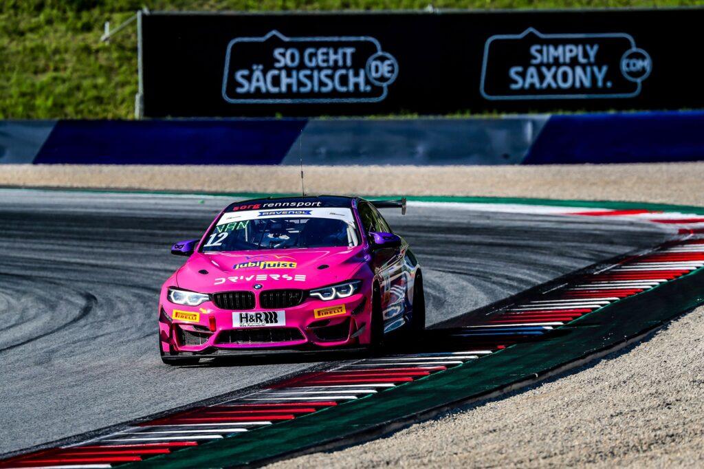 Liesette Braams Sandra van der Sloot Driverse BMW M4 GT4 ADAC GT4 Germany Red Bull Ring
