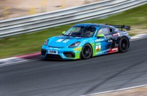 Dennis Fetzer Nicolaj Møller Madsen Allied-Racing Porsche 718 Cayman GT4 Clubsport MR ADAC GT4 Germany Zandvoort