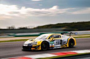 Elia Erhart Pierre Kaffer Rutronik Racing Audi R8 LMS GT3 ADAC GT Masters Lausitzring