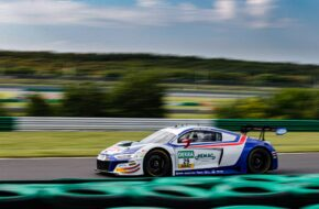 Ricardo Feller Christopher Mies Montaplast by Land-Motorsport Audi R8 LMS GT3 ADAC GT Masters Lausitzring