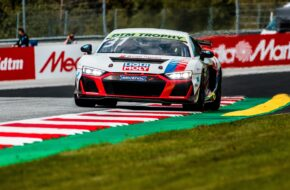 Sebastian Kornely Heide-Motorsport Audi R8 LMS GT4 Heide-Motorsport DTM Trophy Red Bull Ring