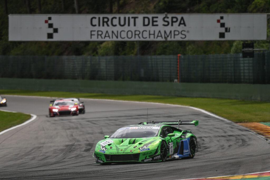 Gerhard Tweraser Jan Seyffert HP Racing Lamborghini Huracan GT3 International GT Open Spa-Francorchamps