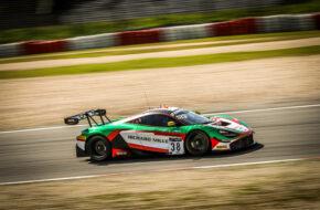 Ben Barnicoat Oliver Wilkinson Rob Bell JOTA McLaren 720S GT3 GT World Challenge Europe Endurance Cup Nürburgring