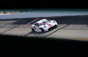 Cooper MacNeil Mathieu Jaminet WeatherTech Racing Porsche 911 RSR IMSA WeatherTech SportsCar Championship Long Beach