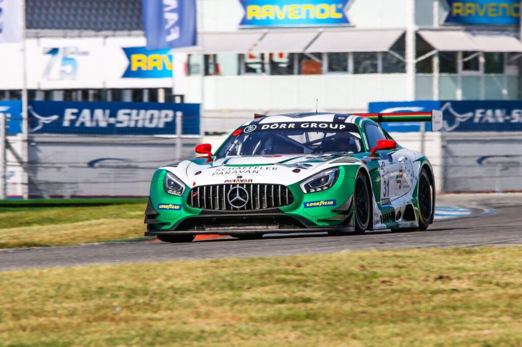 Tim Heinemann Patrick Assenheimer Space Drive Racing Mercedes-AMG GT3 GTC Race Hockenheim