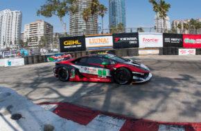 Madison Snow Bryan Sellers Paul Miller Racing Lamborghini Huracan GT3 IMSA WeatherTech SportsCar Championship Long Beach