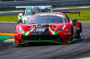 Benjamin Hites Fabrizio Crestani Rinaldi Racing Ferraru 488 GT3 International GT Open Monza
