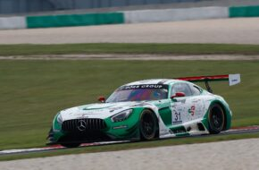 Tim Heinemann Kenneth Heyer Space Drive Racing Mercedes-AMG GT3 GTC Race Lausitzring