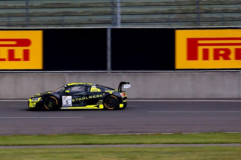 Salman Owega Phoenix Racing Audi R8 LMS GT3 GTC Race Lausitzring
