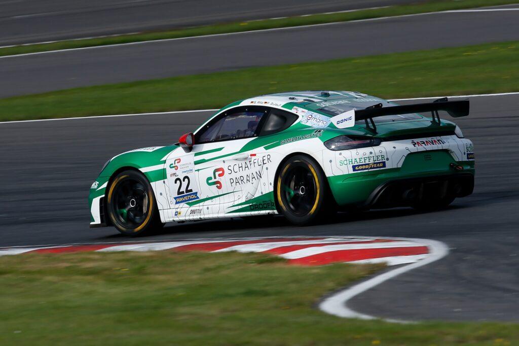 Finn Zulauf Sandro Ritz W&S Motorsport Porsche 718 Cayman GT4 Clubsport MR GTC Race Lausitzring
