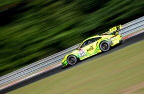 Michael Christensen Kevin Estre Manthey-Racing Porsche 911 GT3 R Nürburgring Langstrecken-Serie Nürburgring-Nordschleife