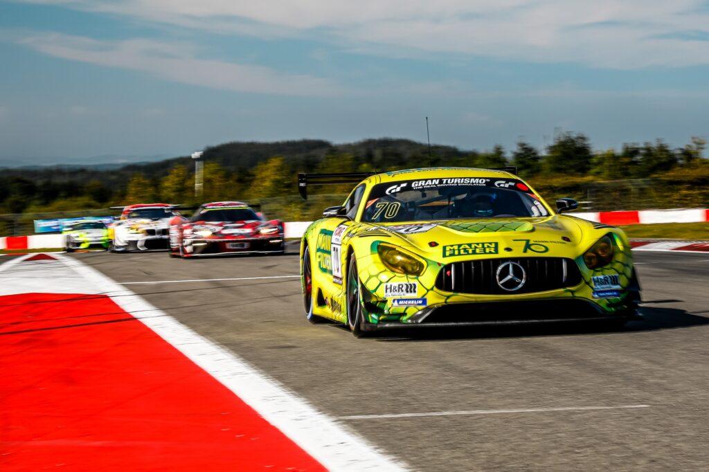 Luci Trefz Dirk Müller Mann-Filter Team Landgraf HTP/WWR Mercedes-AMG GT3 Nürburgring Langstrecken-Serie Nürburgring-Nordschleife