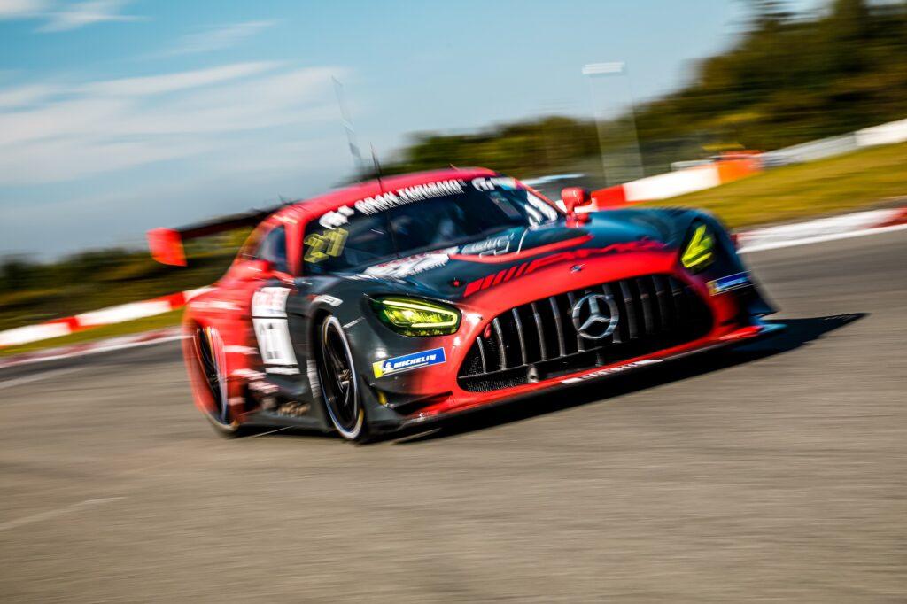 Marcel Marchewicz Patrick Assenheimer Thomas Jäger HWA Racelab Mercedes-AMG GT3 Nürburgring Langstrecken-Serie Nürburgring-Nordschleife