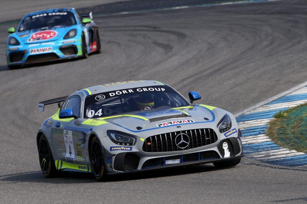 Denis Bulatov Leon Koslowski Eastside Motorsport Mercedes-AMG GT4 GTC Race Hockenheim