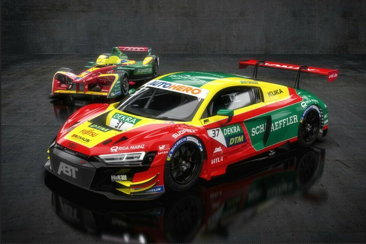 Lucas di Grassi Abt Sportsline Audi R8 LMS GT3 DTM
