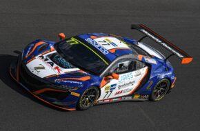 Luca Magnoni Jacopo Guidetti Erwin Zanotti Nova Race Honda NSX GT3 Italian GT Vallelunga