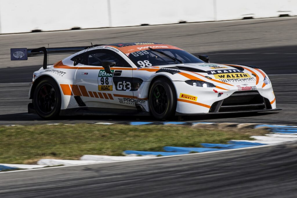 David Griessner Matthew George PROsport Racing Aston Martin Vantage GT3 ADAC GT Masters Hockenheim