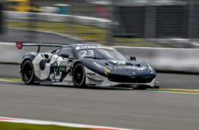 Alexander Albon AF Corse Ferrari 488 GT3 DTM Nürburgring