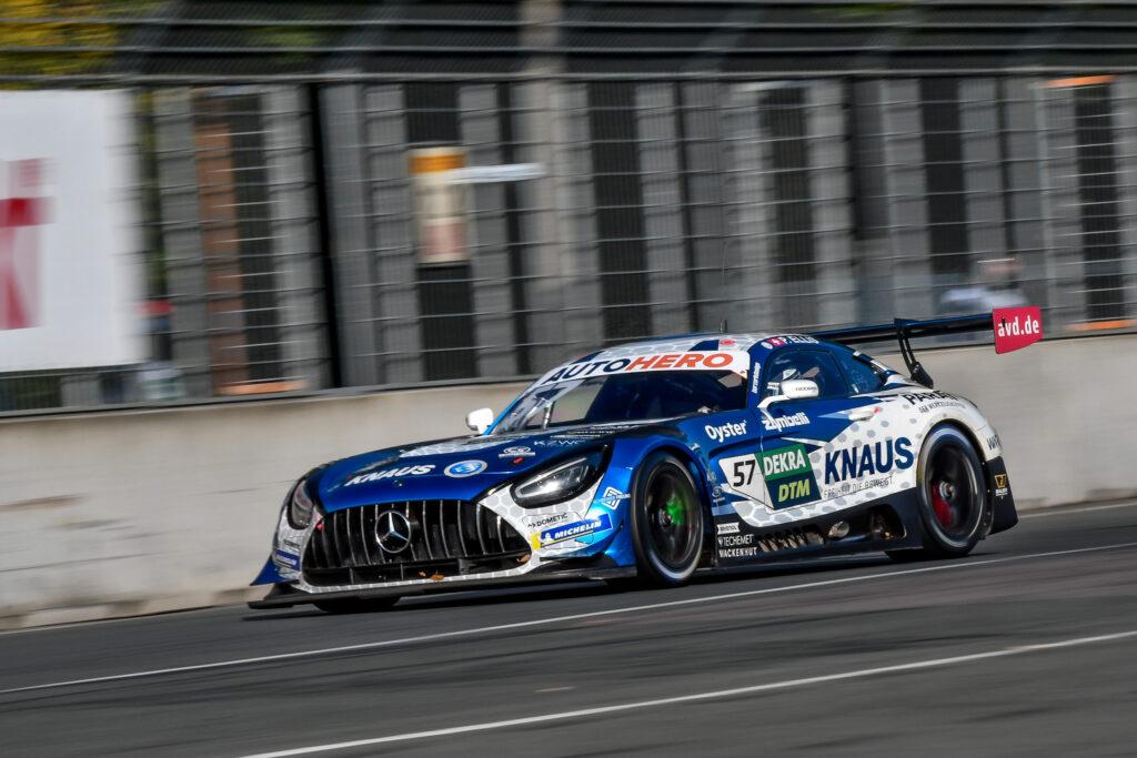 Philip Ellis WINWARD Racing Mercedes-AMG GT3 DTM Norisring