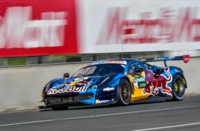Liam Lawson Red Bull AF Corse Ferrari 488 GT3 DTM Norisring