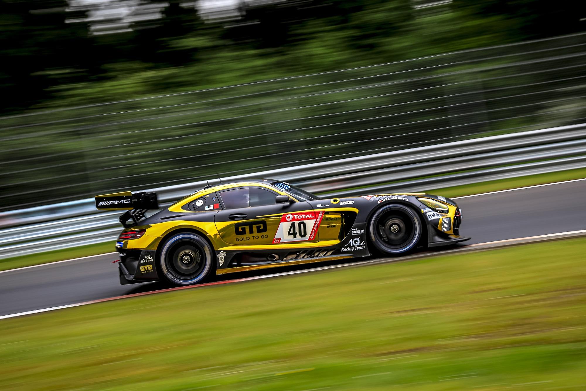 Dominik Baumann Yelmer Buurman Kenneth Heyer Thomas Jäger 10Q Racing Team Mercedes-AMG GT4 24h Nürburgring