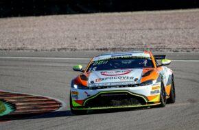 Hugo Sasse Mike David Ortmann PROsport Racing Aston Martin Vantage GT4 ADAC GT4 Germany Sachsenring