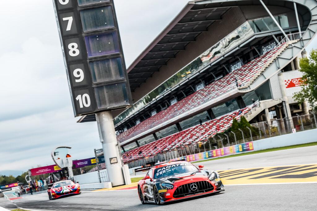 Raffaele Marciello Felipe Fraga Jules Gounon Mercedes-AMG Team AKKA ASP Mercedes-AMG GT3 GT World Challenge Europe Endurance Cup Barcelona