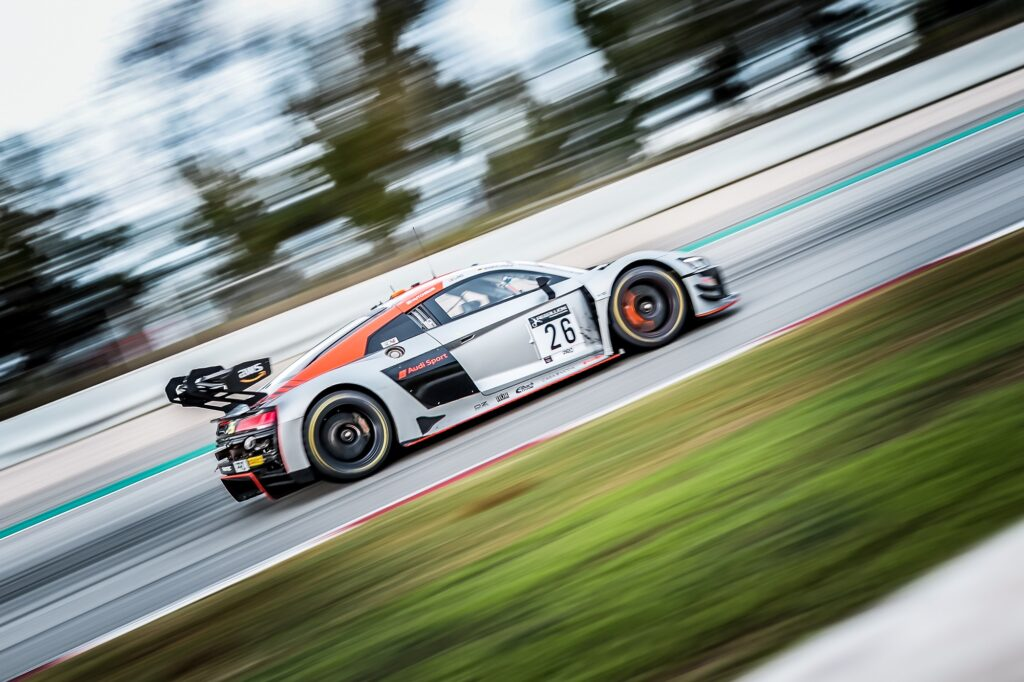 Markus Winkelhock Dennis Lind Finlay Hutchison Car Collection Audi R8 LMS GT3 EVO2 GT World Challenge Europe Barcelona
