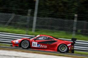 Ozz Negri Francesco Piovanetti AF Corse Ferrari 488 GT3 International GT Open Monza