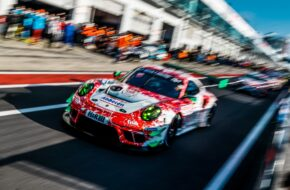 Julien Andlauer Klaus Abbelen Frikadelli Racing Porsche 911 GT3 R Nürburgring Langstrecken-Serie Nürburgring-Nordschleife